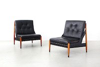 Lounge Chairs by Egon Eiermann for Wilde+Spieth