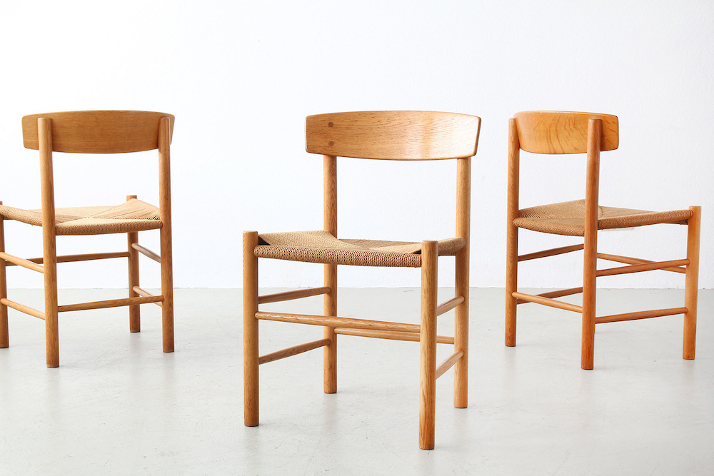 Chairs by Børge Mogensen for FDB