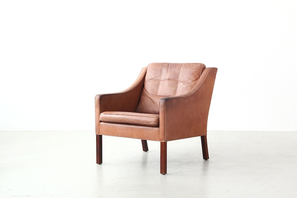 Lounge Chair Mod. 2207 Børge Mogensen for Fredericia