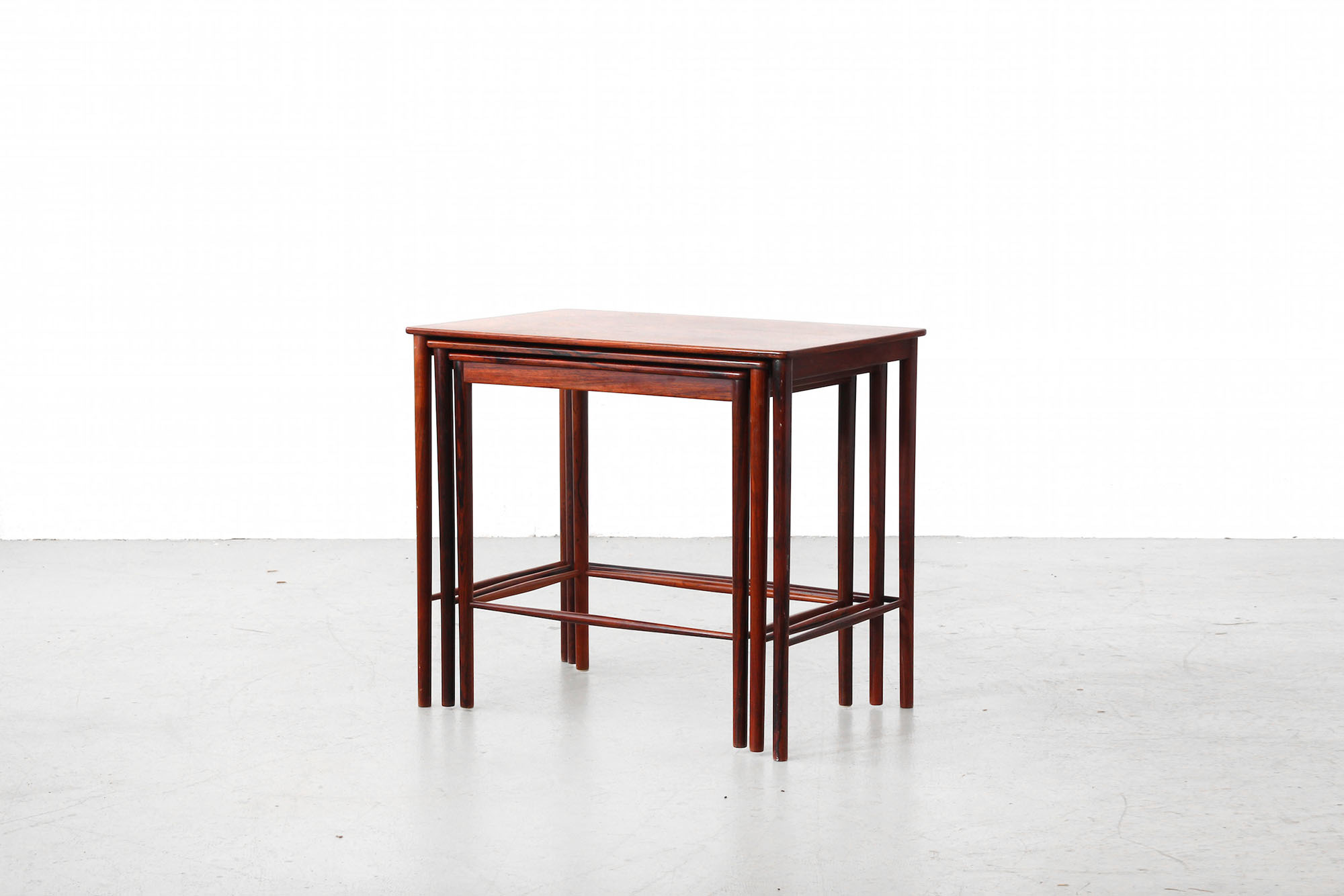 Great Nesting Tables By Grete Jalk For P. Jeppesen