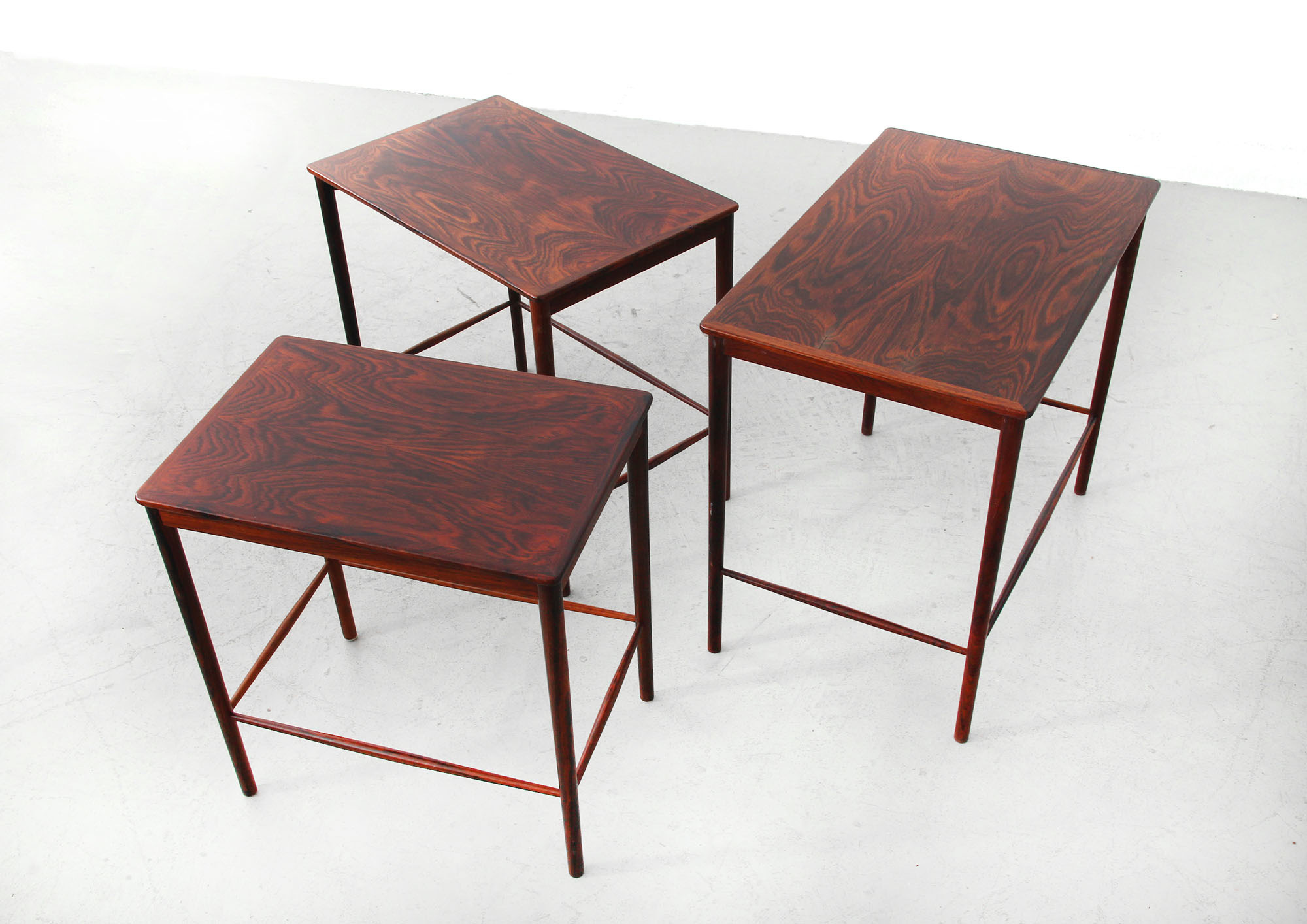 Nesting Tables By Grete Jalk For P. Jeppesen
