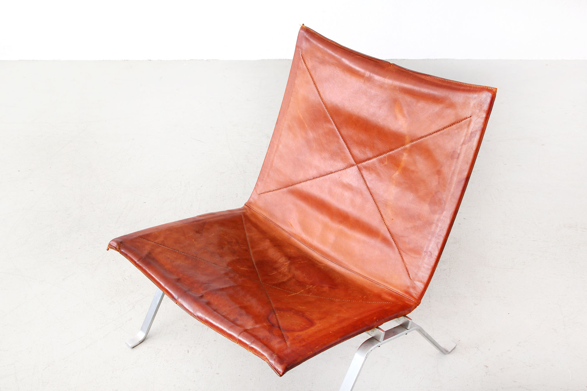 Galerie Bachmann Lounge Chairs PK22 by Poul Kjaerholm for E
