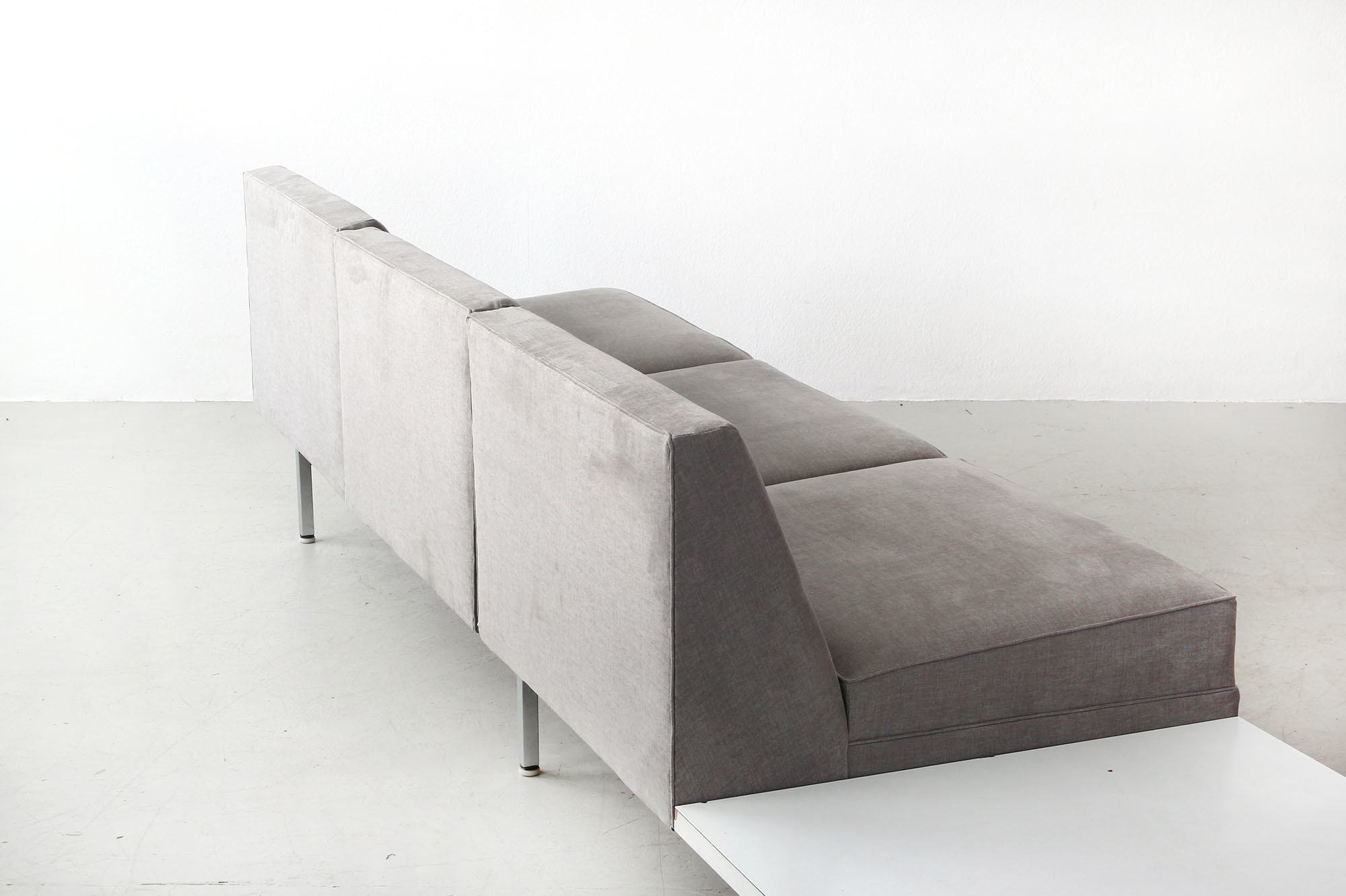 Galerie Bachmann • Modular System Sofa by George Nelson for Herman