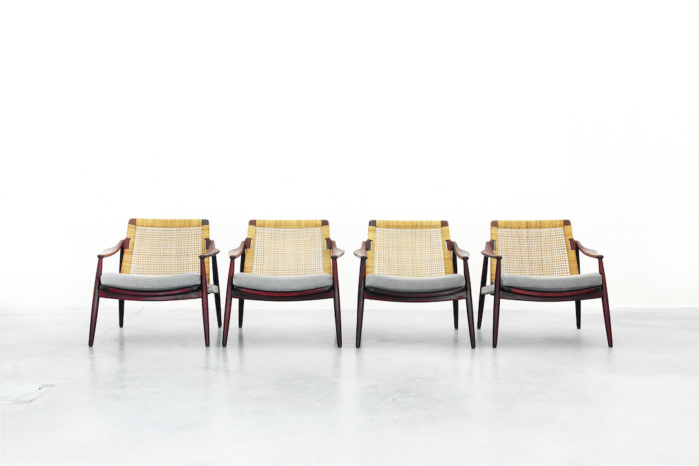 Lounge Chairs by Hartmut Lohmeyer for Wilkhahn