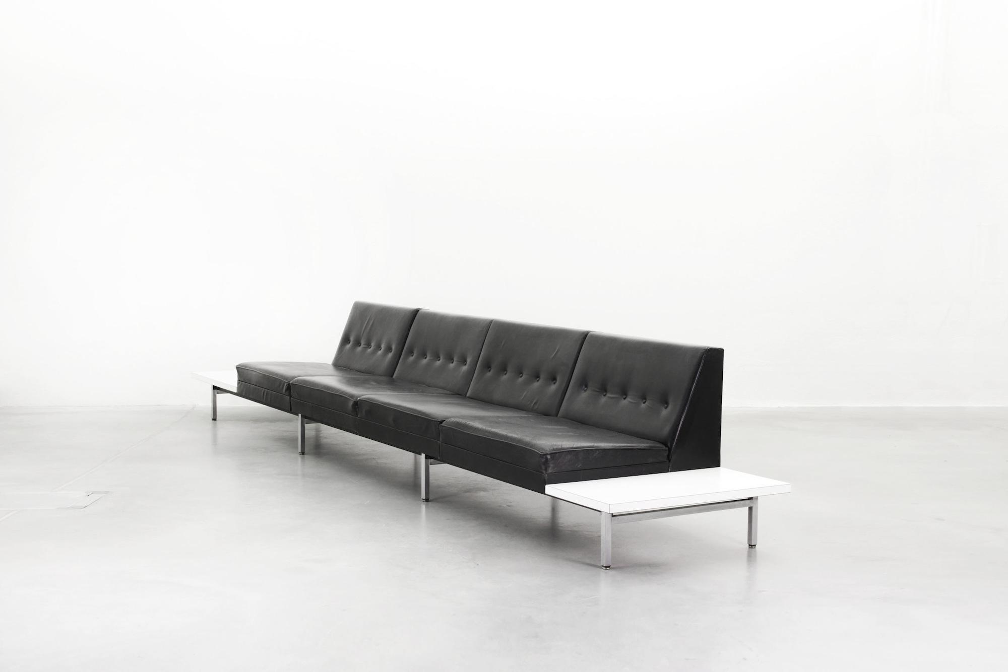 Galerie Bachmann • George Nelson Modular System Sofa for Herman Miller