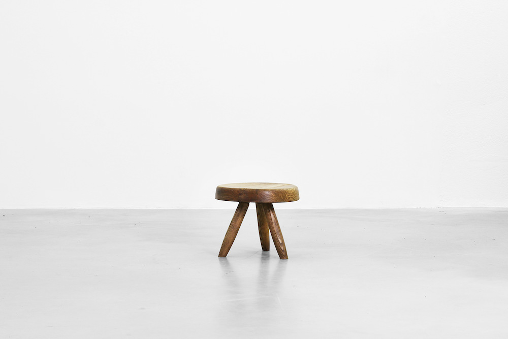 Stool by Charlotte Perriand for Steph Simon