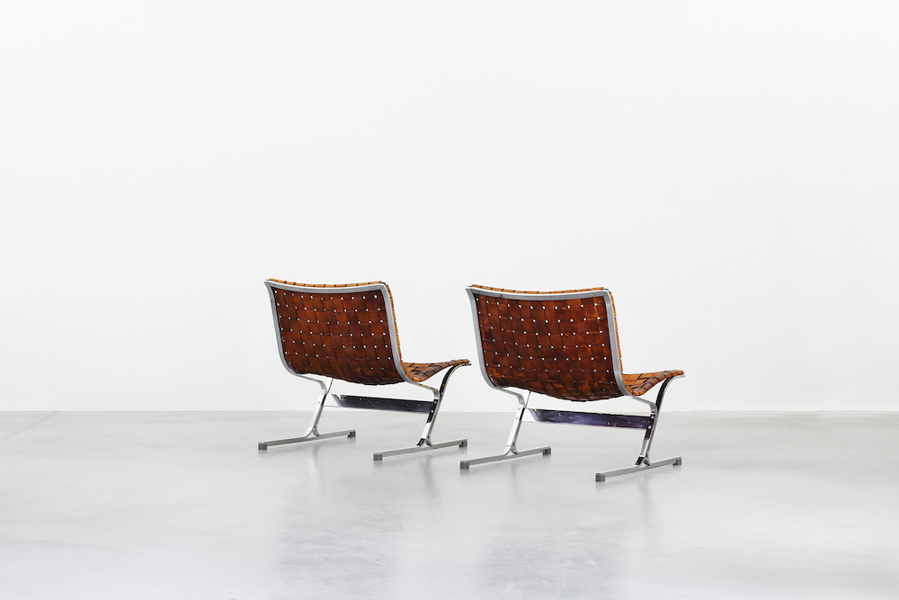 Lounge Chairs by Ross Littell for ICF