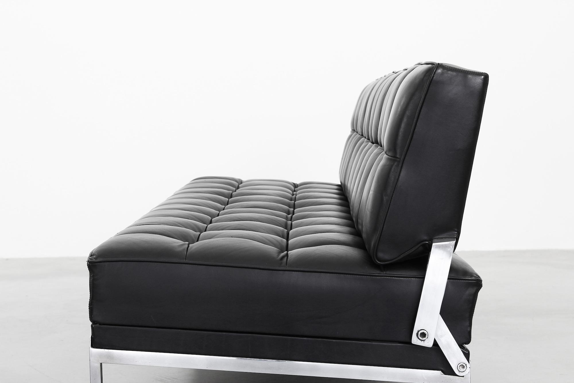 galerie bachmann sofa von johannes spalt f r wittmann. Black Bedroom Furniture Sets. Home Design Ideas