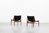 Hunting Chairs by Franz Xaver Lutz for WK Möbel