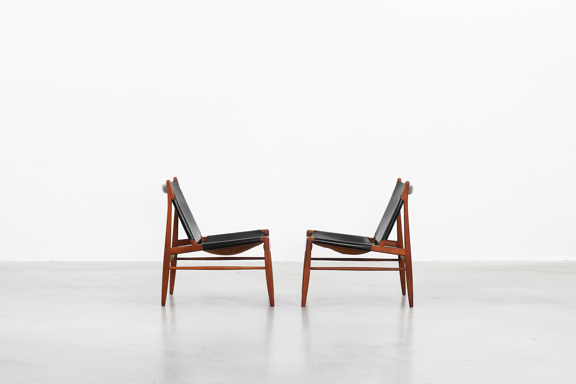 Galerie Bachmann • Kaminsessel von Franz Xaver Lutz für WK Möbel