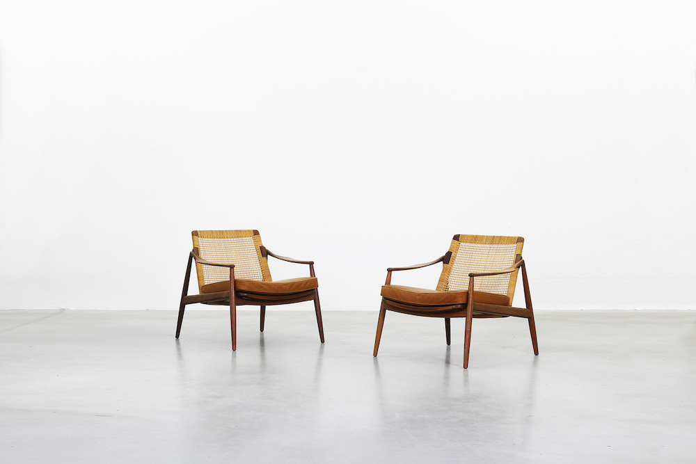 Lounge Chairs by Hartmut Lohmeyer for Wilkhahn l.e.