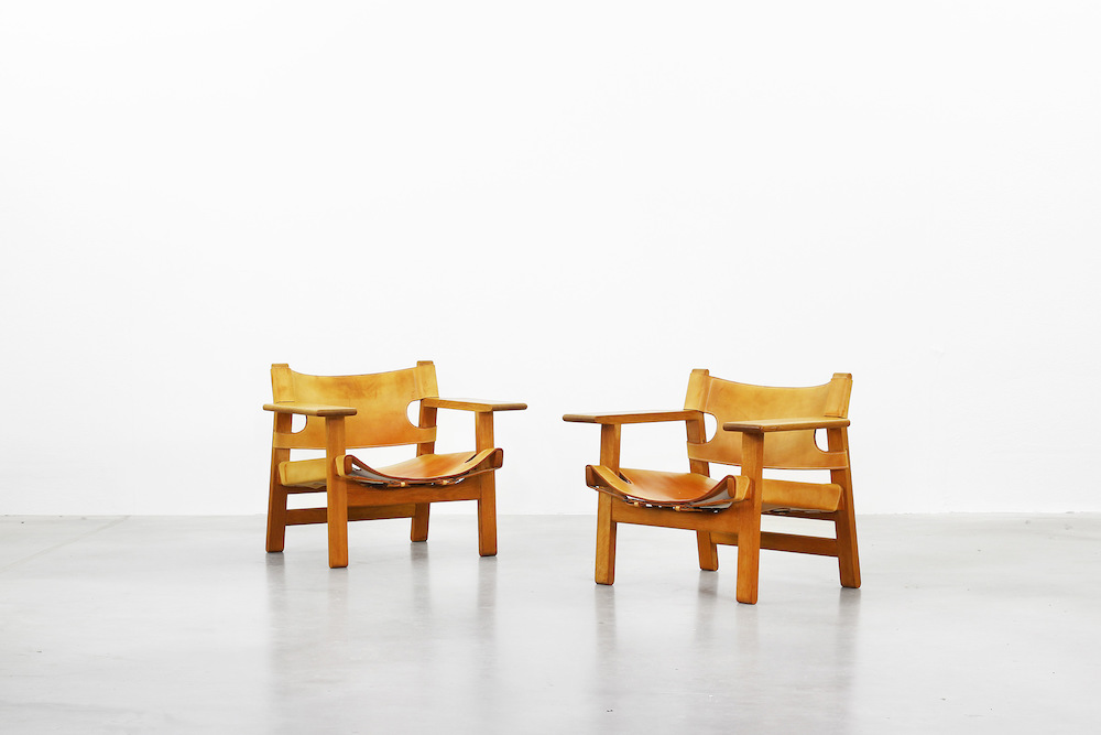 Spanish Chair Børge Mogensen for Fredericia