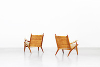 Lounge Chairs by Hans J. Wegner