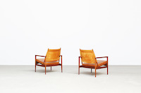 Lounge Chairs by Torbjørn Afdal for Svein Bjørneng